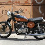 "Kawasaki KZ ""Jap Retro Racer"" by Old School Garage"