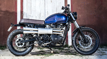 "Triumph Scrambler (2013) ""The Climber"" by Macco Motors"