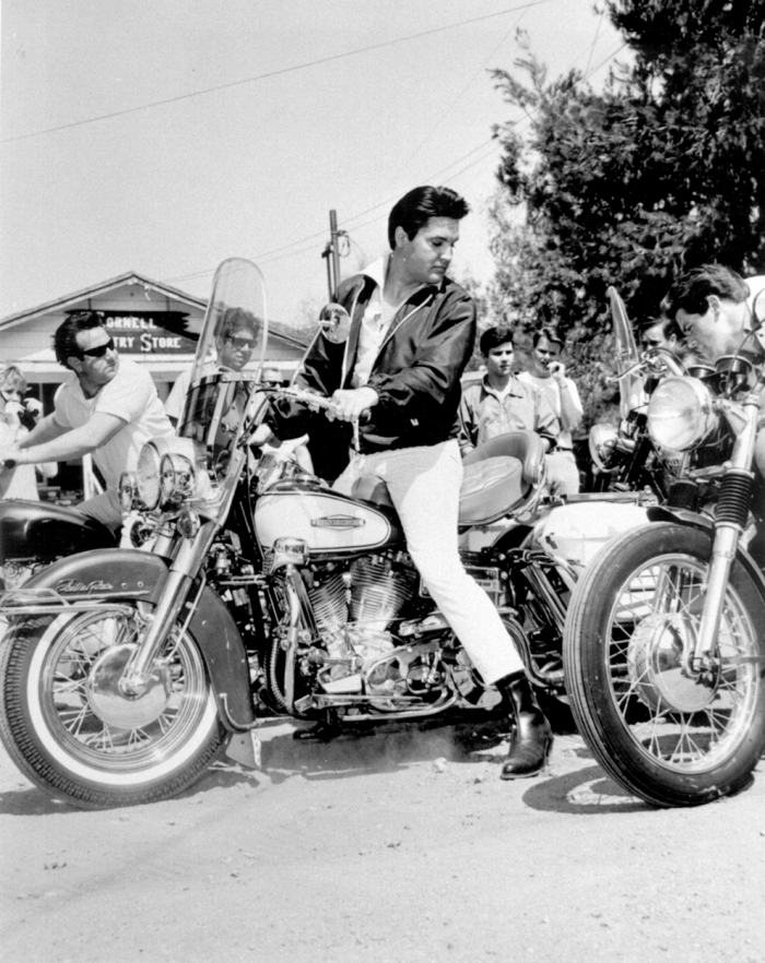 Elvis_Harley_motorcycle