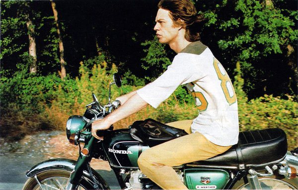 Mick Jagger Honda