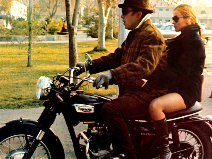 anthony-quinn-ann-margret-triumph-motorcycle
