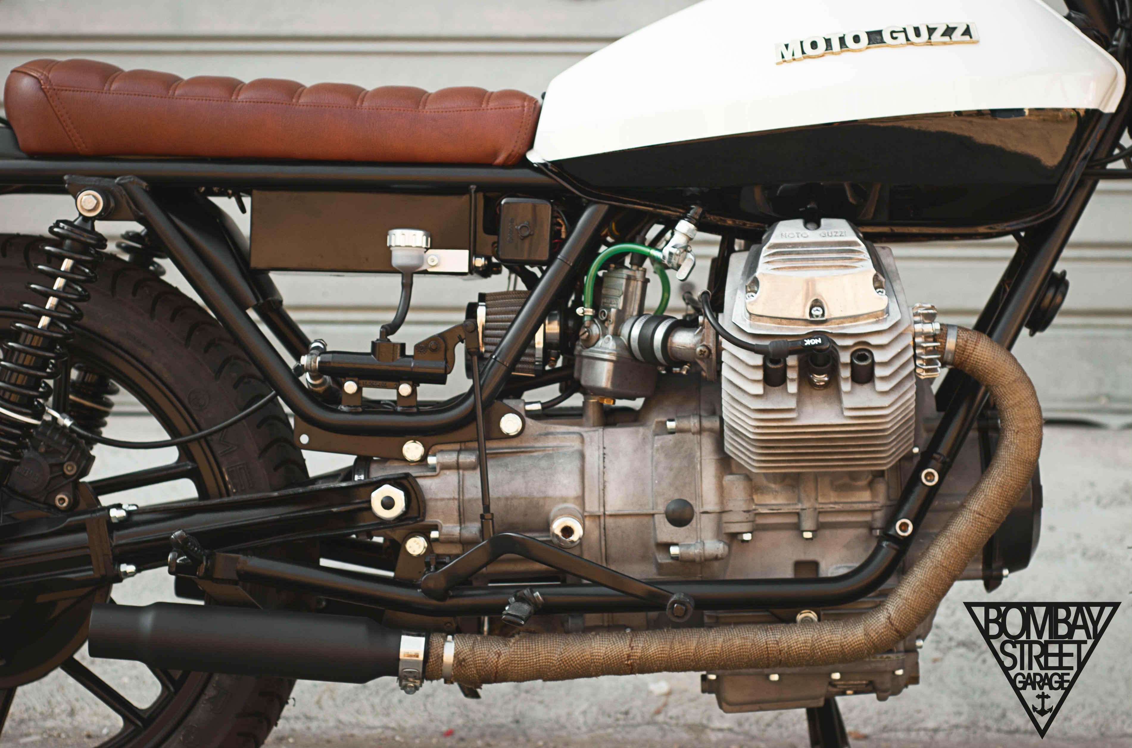 Moto Guzzi V35 Bombay Garage 5