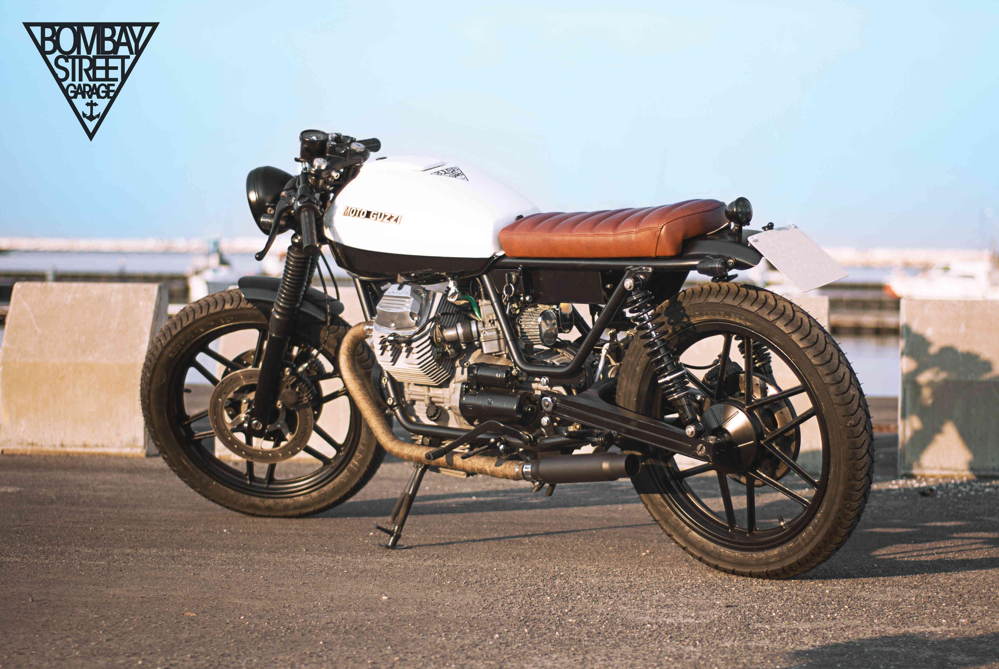 Moto Guzzi V35 Bombay Garage 7