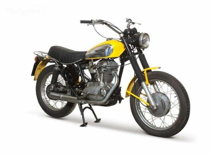 2- Ducati 450 Scrambler