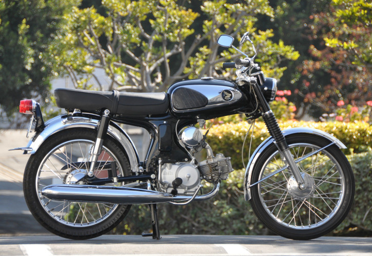 5- Honda S90 1968