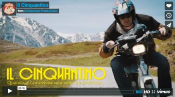 Sulle alpi con il Ciao: un'avventura slow riding
