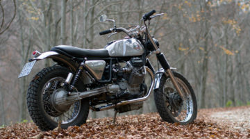 Moto Guzzi Nevada Scrambler by Officine Rossopuro