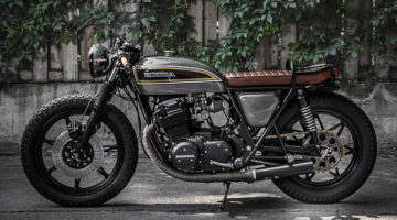 """Honda CB750 """"Majesty"""" by Philippe Vincent. La moto di Sua Maestà"""