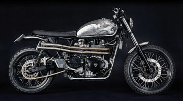 Triumph Bonneville by North-East Custom: il gioiello di Nord-est.