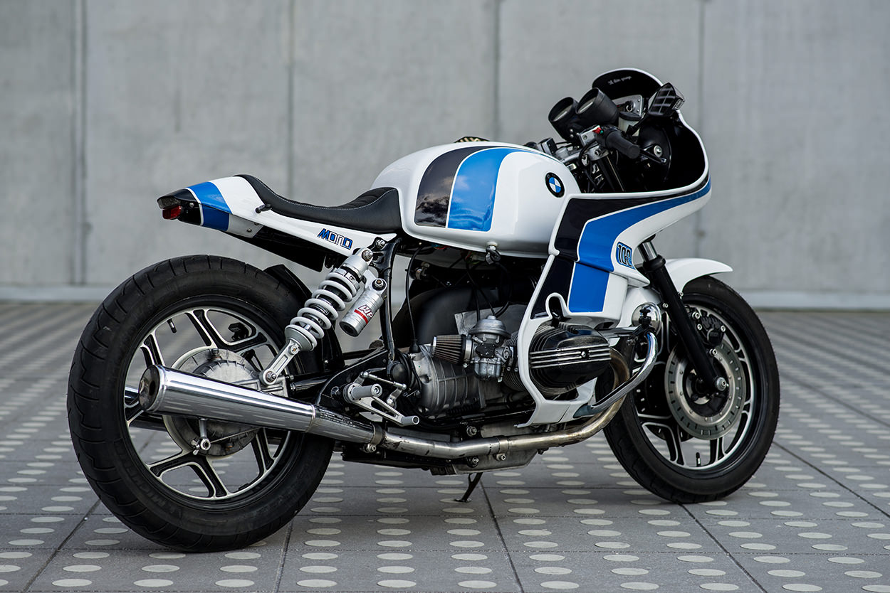 Bmw R100 Rs By Luka Cimolini La Cafe Racer Di Ritorno Al
