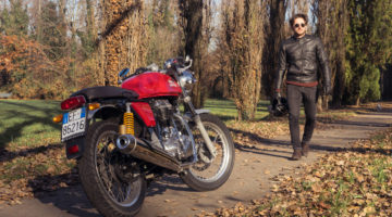Royal Enfield Continental GT. La moto post-etnica