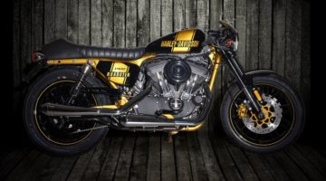 Harley-Davidson Stay Gold by Onorio Moto per la Battle of the King 2017