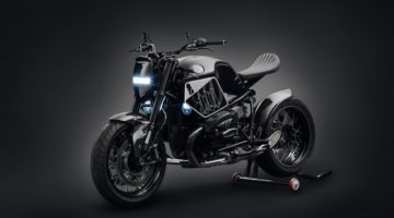 BMW R Nine T Dark Fighter by Mandrill Garage
