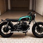 "Moto Guzzi V35 ""Diamond"". La #9 di Bombay Street Garage"