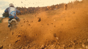 Motorbike riding