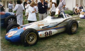 Year:1963, Model:Agajanian-Willard Battery Special, Coachbuilder:A.J. Watson, Style;Roadster, Owner:Indianapolis Motor Speedway Foundation, Exhibit Year:1995,