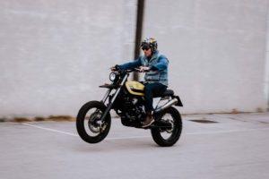 KTM lc4 del 2002 motard Scrambler Imbarcadero14 Venice