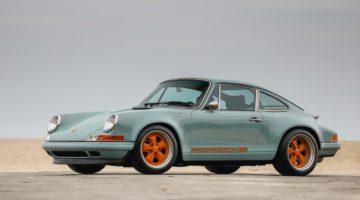 "La Porsche ""special"" di Singer venduta all'asta per oltre 800.000 dollari"