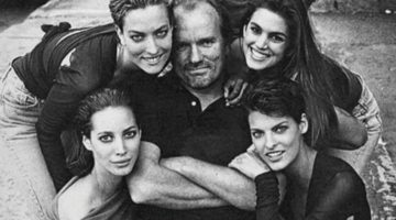 Ricordando Peter Lindbergh e le supermodelle motocicliste per Vogue