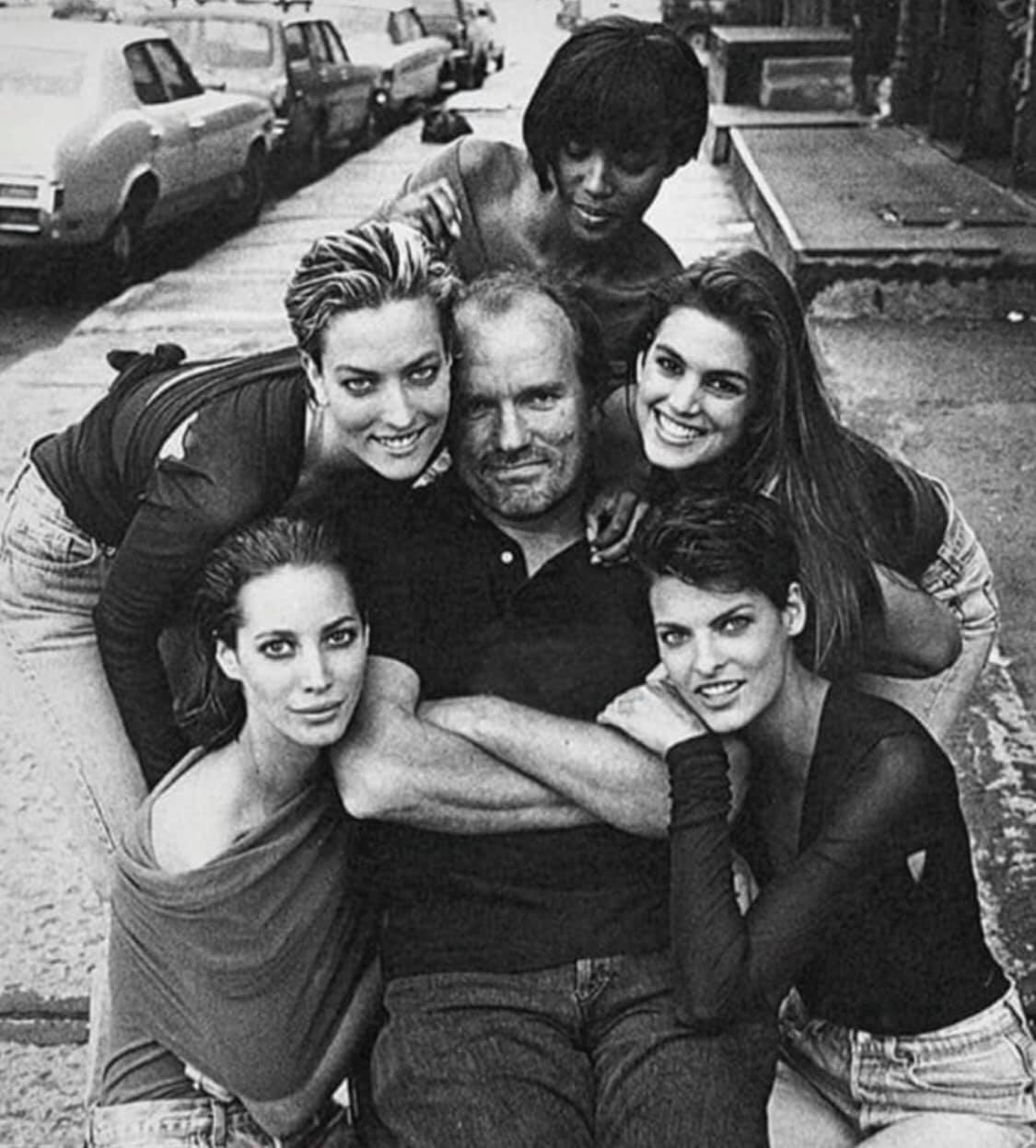 Peter Lindbergh and supermodels