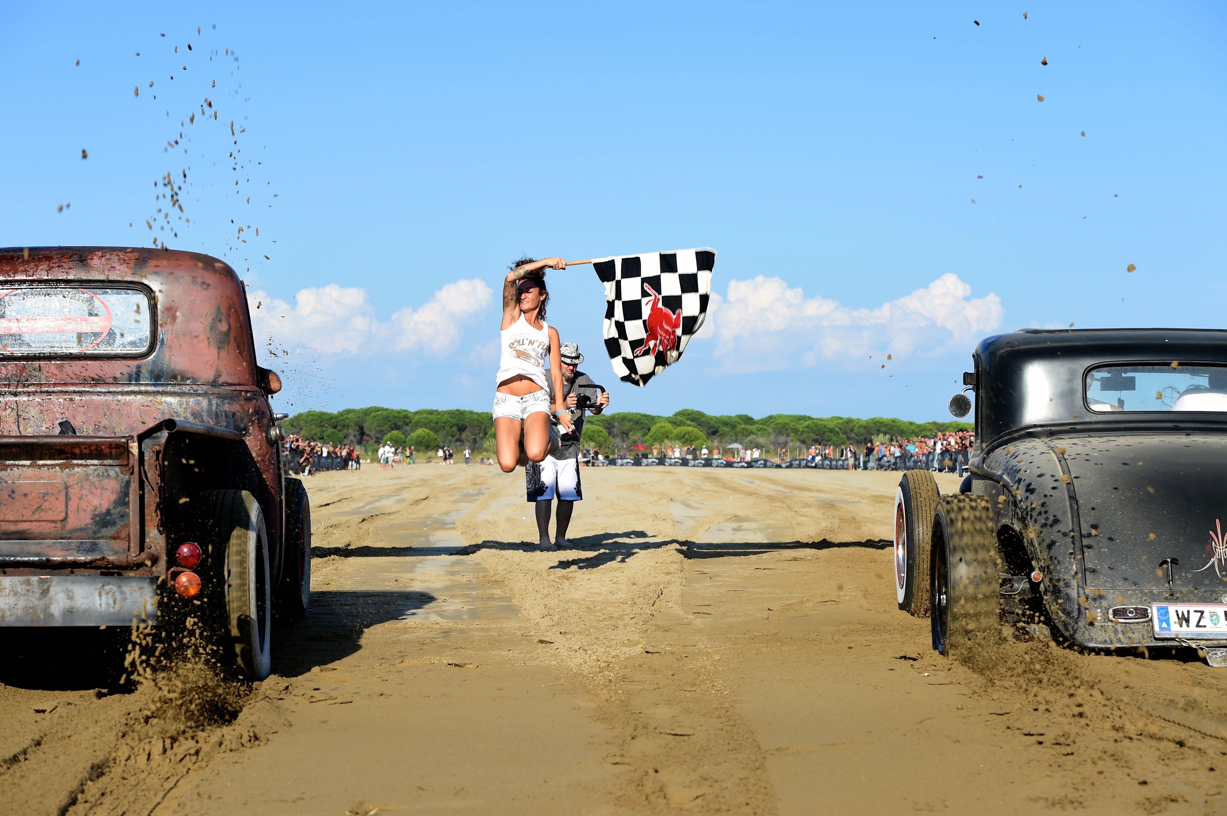Roll'n Flat Beach Race_Start 1