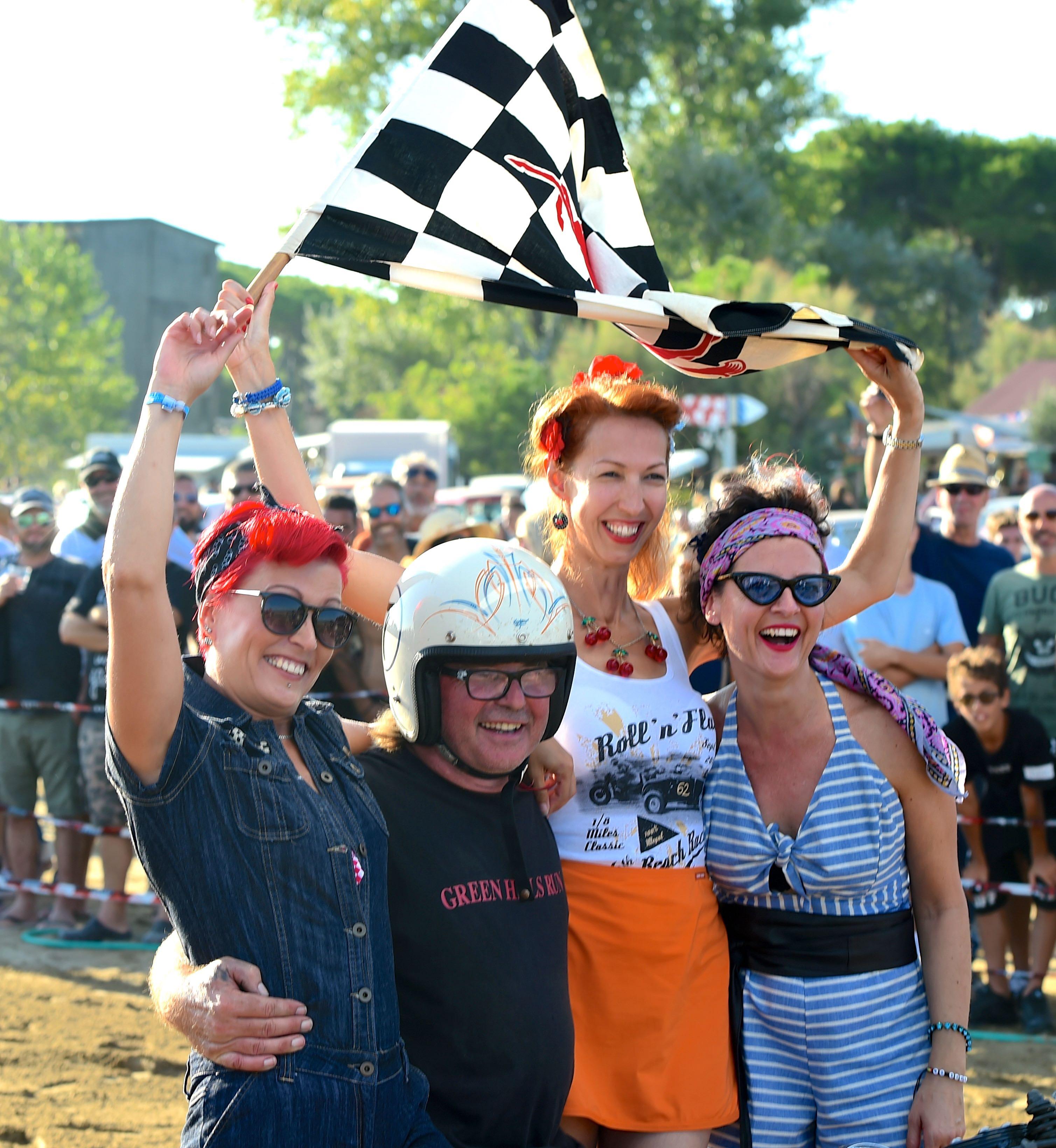 Roll'n Flat Beach Race_pubblico appassionato
