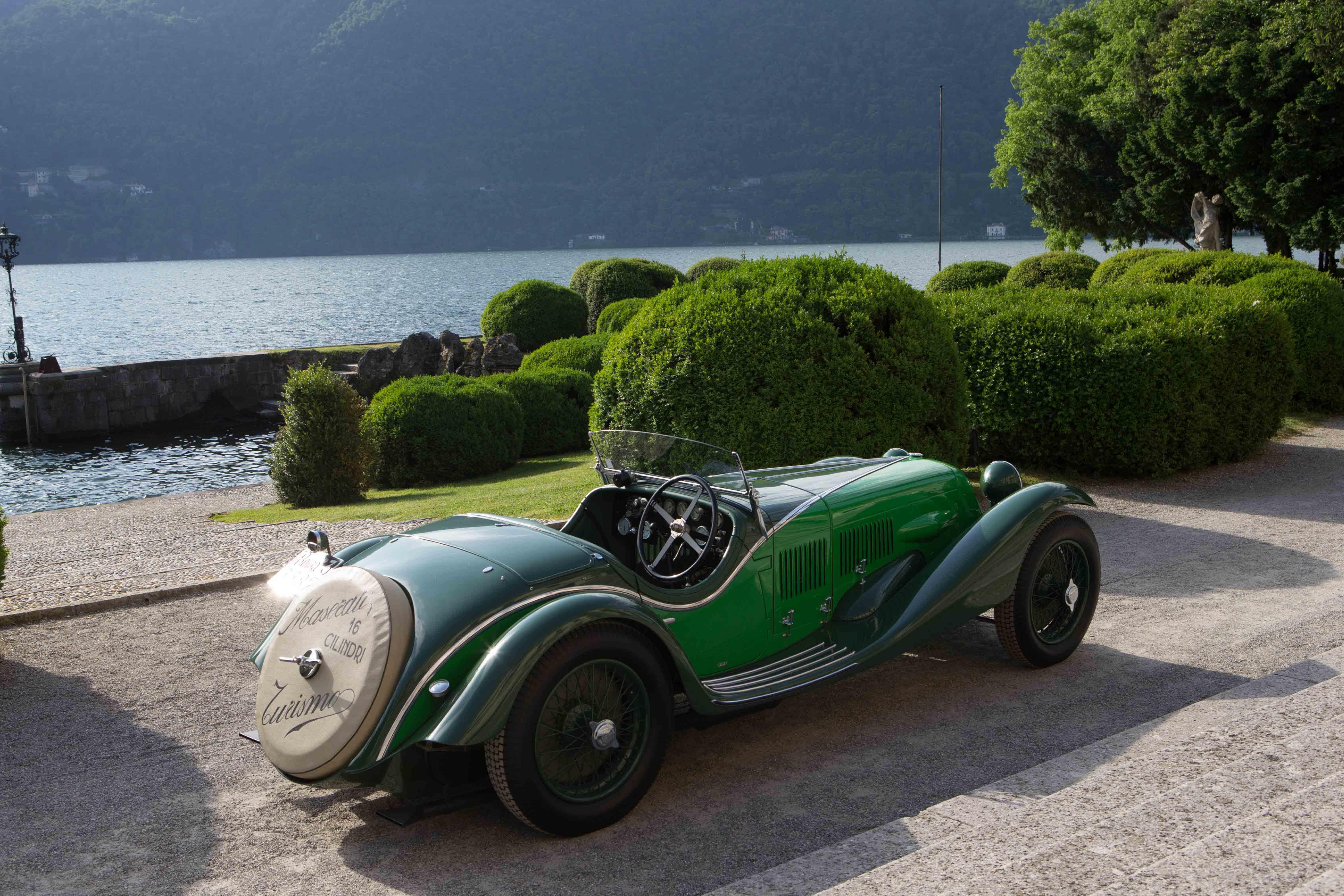 La Maserati Tipo V4: 280cv, 1.000 chili e zero freni. Nel 1929
