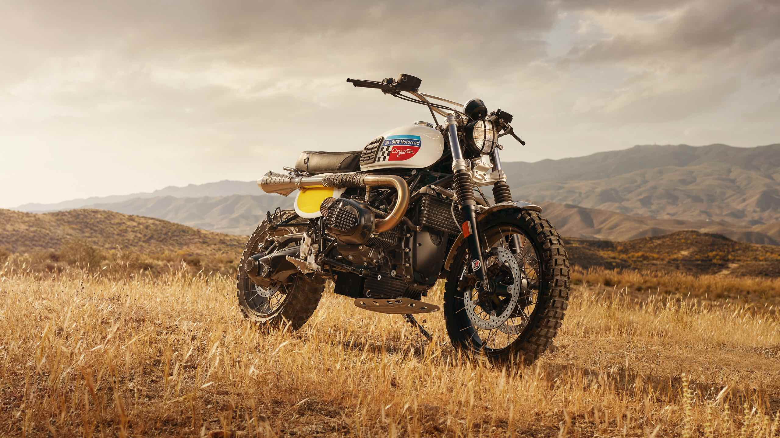 BMW R NineT Coyote - Fuel Motorcycles - Rust and Glory - cover