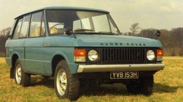 50 anni di Range Rover Classic
