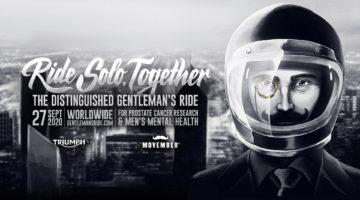 Distinguished Gentleman's Ride 2020: da soli, insieme